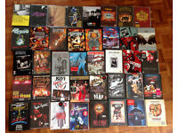 Rock Music DVD's - 40 Titles