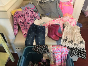 Huge Box of Quality Size 3/4T Girls Clothing