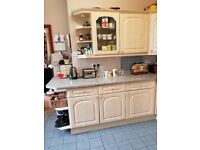 Kitchen units/worktops/ sink+ taps