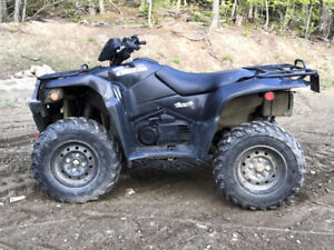 King Quad 450, Fuel Injected, New Warn Winch