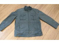Mens John Rocha Military Style Jacket, XXL