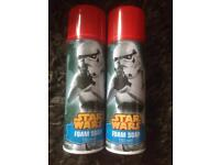 Star Wars foam soap joblot £1 each