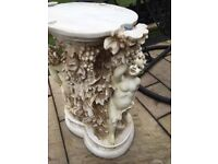 Cherub console dining table needs and intricate clean but no damage