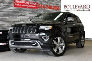 2016 Jeep Grand Cherokee OVERLAND V6 + TOIT PANO HITCH