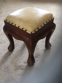 Moroccan style stool very good condition!