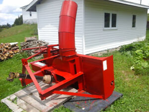 Snowblower for farm tractor