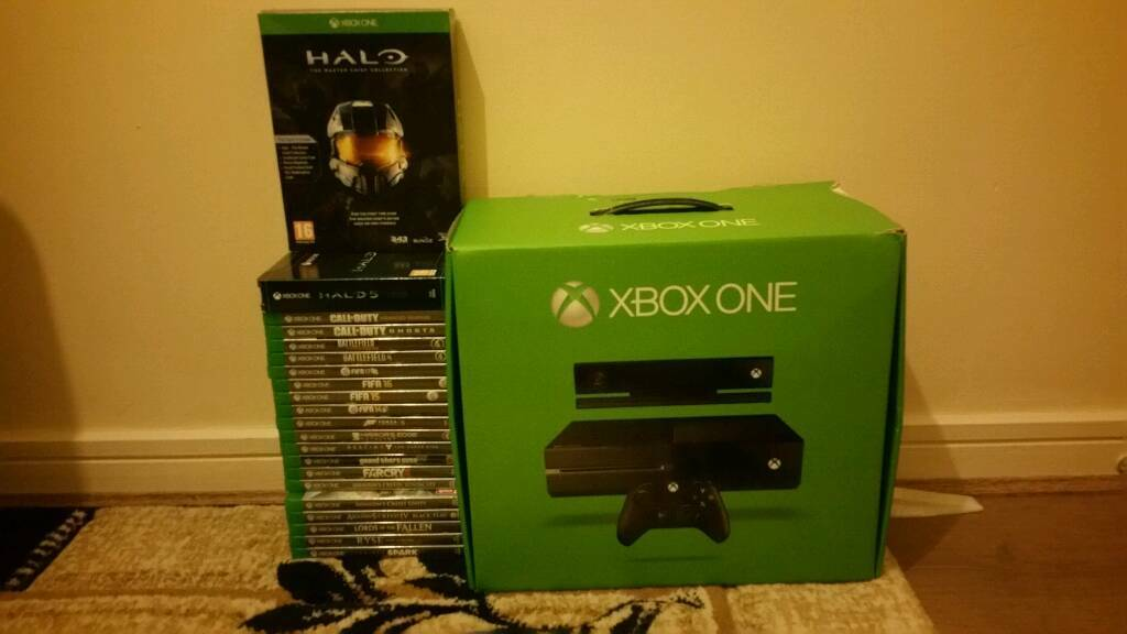 Xbox One 500GB With 21 Games Open To Reasonable Offers