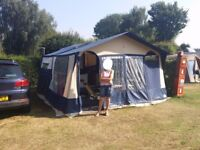 Slimline Conway Countryman II Folding Camper with Kitchen and Full Awning (2001) - Reduced