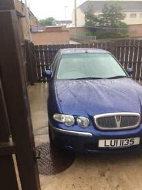 Rover 45 diesel only 49.000 miles 2ltr TD