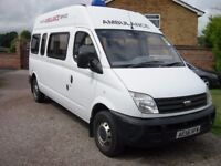 LDV Maxus minibus,12 months mot one previous owner,