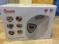 Brand new Swan bread maker