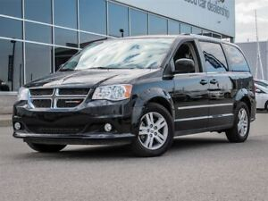 2016 Dodge Grand Caravan Crew| Heated Leather Interior + Steerin