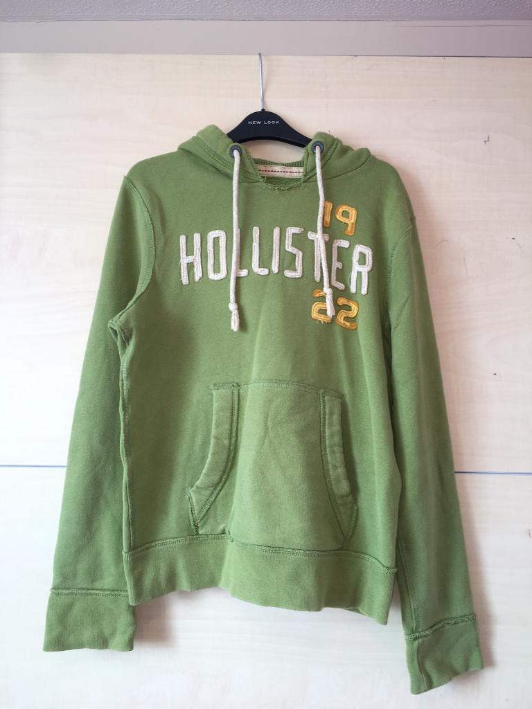Green Hollister Hoodie (Men's)