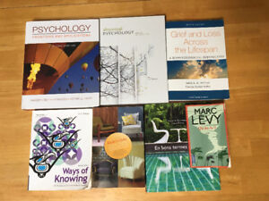 King's & UWO Text books (Psych, Than, First Nations, Writing)
