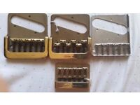 NOS - 1980s Fender Tele and Strat Bridges ( Never used)