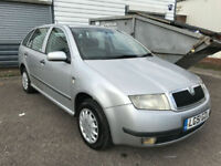 2002 SKODA FABIA ESTATE 1.9 TDI COMFORT DIESEL * CHEAP ESTATE AND GOOD RUNNER *