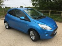 2009 Ford ka 1.25 2 months mot full service history 1 lady owner from new £1795
