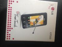 LG Kp500 freetouch smartphone