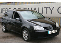 Volkswagen Golf 1.6 FSI auto 2005 S GENUINE LOW MILES ONLY 57K!! automatic!!