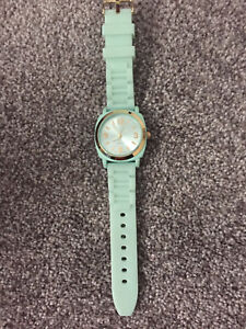 Mint green Anthropology watch (NEW)
