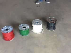 Rolls of Electrical wire