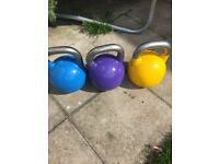 Kettlebells 12 16 and 20kg competition style