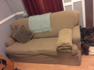 Pull out couch and couch cover