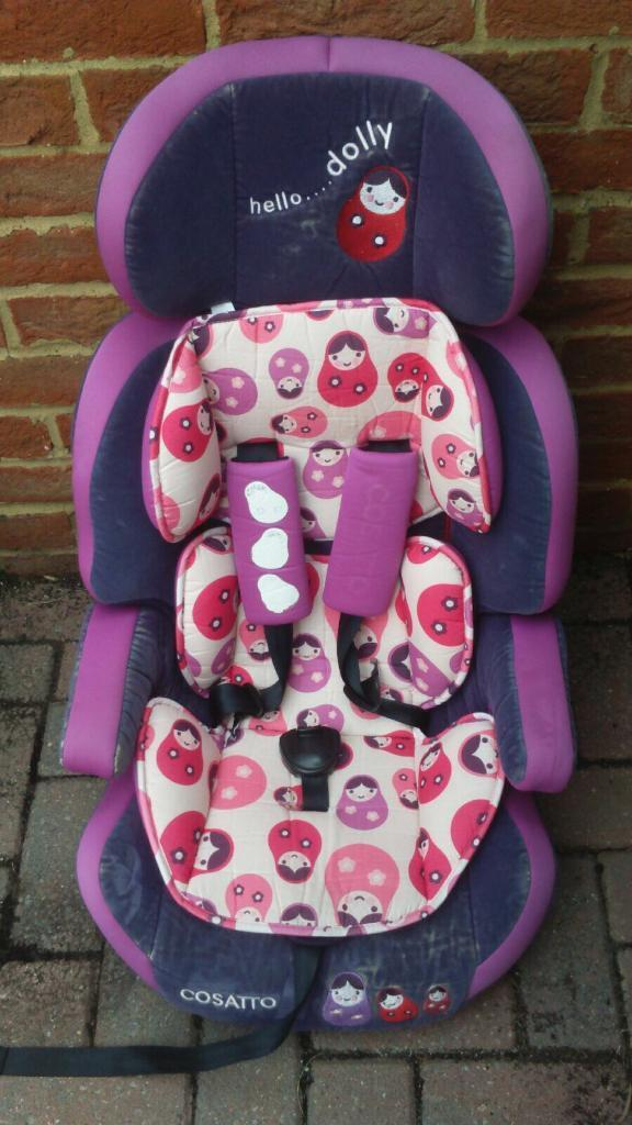 Cosatto Hello Dolly Zoomi Group 1 2 3 Car Seat