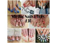 August Cnd Shellac Offer !