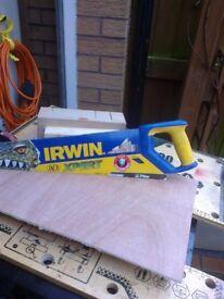 Irwin 22 inch fine cut panel hand saw