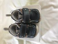 Clarks First Shoes Blue Size 4G