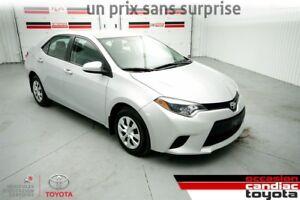 2014 Toyota Corolla CE * AUTO * AC * PACK ELECTRIQUE *