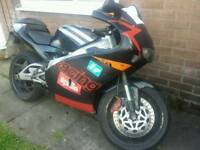 Newly rebuilt Aprilia RS 125 with Powervalve. Quick Sale or swap for the right bike.