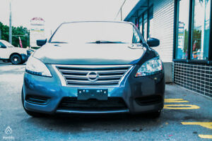 2013 Nissan Sentra S,1.8LTR ENGINE, NO ACCIDENT, CERTIFIED.