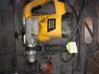 Einhell Corded Drill with screws