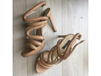 Zara nude heels 7