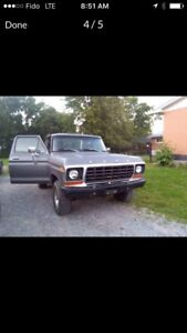 RARE Ford Bronco 1978 Manual 351M