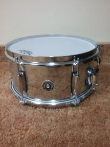 """New 6x12"""" Gretsch Brooklyn snare. Mint condition."""