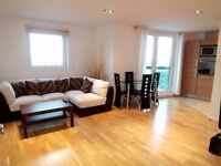 Modern 2 bedroom 2bayjroom flat City Tower E14 - 9th floor next to South Quay and Canary Wharf! JS