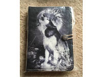 "7 inch Case Cover Book For 'Tablet - 7"" Black wolf Case"