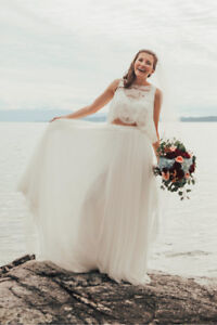 Theia Wedding Gown - Tilly Skirt