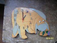 Eeyore clock