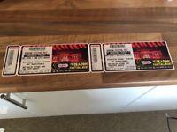 2 x Reading festival weekend tickets