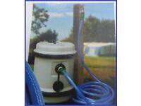 Aquaroll Mains Adaptor Caravan Or Motorhome Service Pitch Set UP.