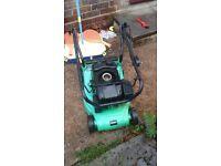 petrol lawn mower needs new pull start spring