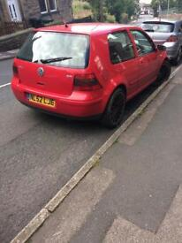 Breaking 2002 Golf GTI 2.0 petrol