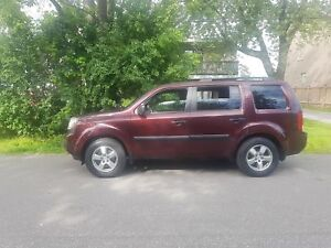2009 Honda Pilot ONE OWNER 4WD P.GROUP, 8 SEATER CERTIFIED $1297