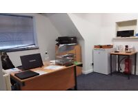 Professional, private, shared, coworking office desk space for rent in Loughborough Town Centre