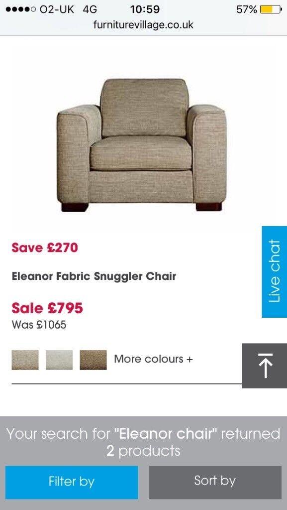 Furniture Village Guildford furniture village eleanor chair | in guildford, surrey | gumtree