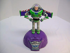 BUZZ LIGHTYEAR - THE TOY STORY TALKING/MOVING COIN BANK